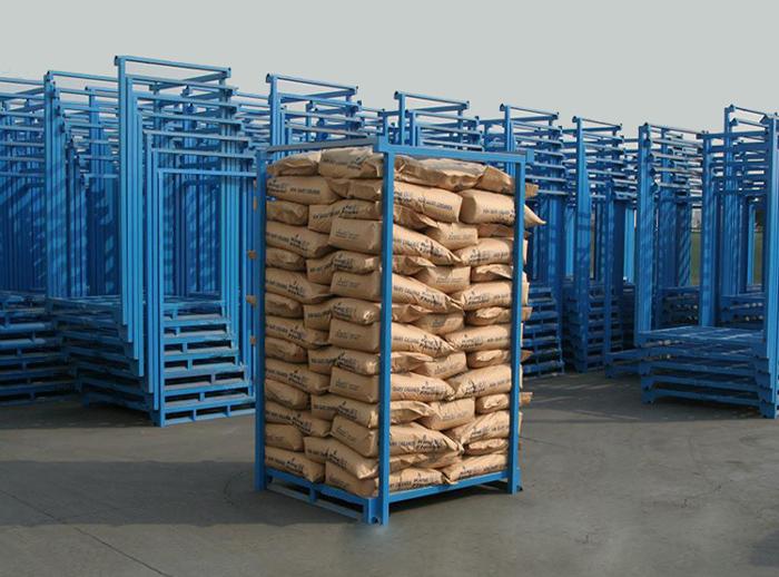 Heavy duty warehouse stacking pallet racks
